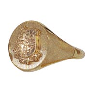 Signet Ring with Crest