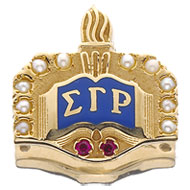 Crown Pearl Badge