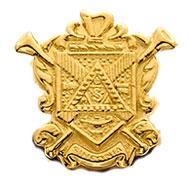 Crest Button