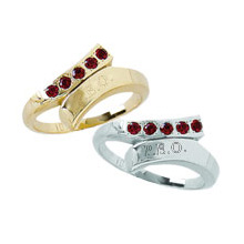 Founders Ring with *Garnets