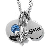 Sapphire Sisterhood Necklace