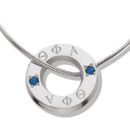Eternity Necklace with *Sapphires