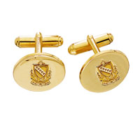 Single Gold Filled Polished Cufflinks