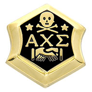 10K Yellow Gold Large Badge