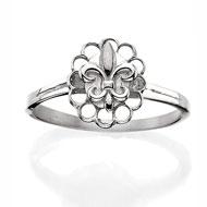 Florentine FLeur-de-lis Ring