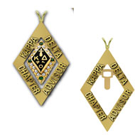 Chapter Advisor Badge Pendant