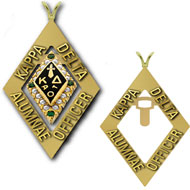 Alumnae Officer Badge Pendant
