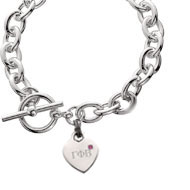 Cable Toggle Bracelet