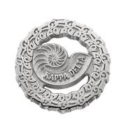 25 Year Nautilus Circle Pin
