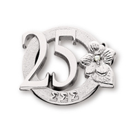 25 Year Member Milestone Pin