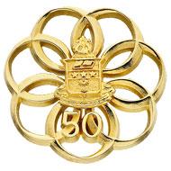 50 Year Button