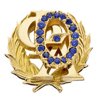 Chapter President Badge
