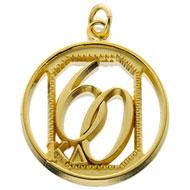 60 Year Emerald Circle Pendant