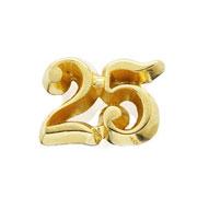 25 Year Button