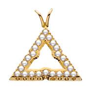 Pierced Pearl Pendant