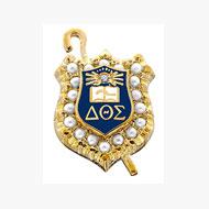 Crown Pearl Badge w/ Diamond Eye