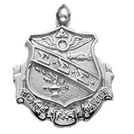 Large Fob Crest Charm
