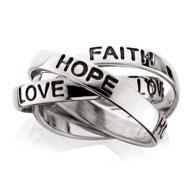 Faith, Hope & Love Ring