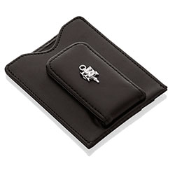 Leather Money Clip/Cardholder