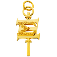 Large Key Charm