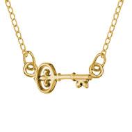 Key Festoon Necklace