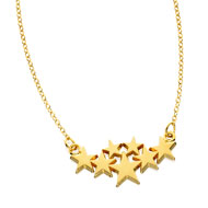 Precious Seven Festoon Necklace