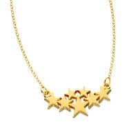Precious Seven Festoon Necklace