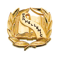 College Panhellenic Pin