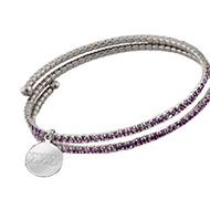 Purple Frost Bracelet