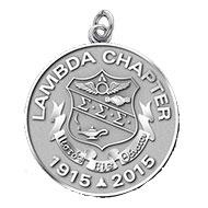 Lambda Anniversary charm