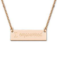 Empowered Festoon Necklace