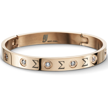 Lux Rose Jeweled Bangle