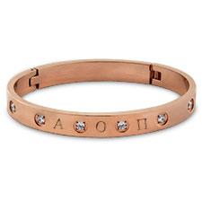 Lux Rose Jeweled Bracelet
