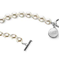 Cultured Pearl Toggle Bracelet
