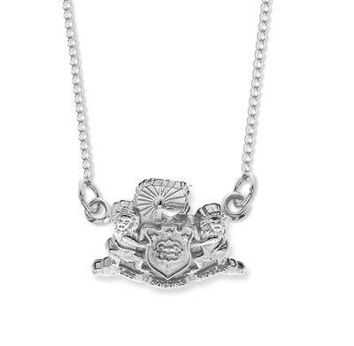 Crest Festoon Necklace