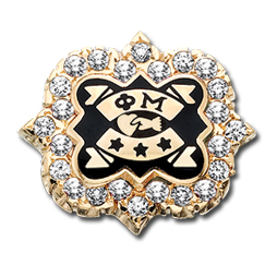 2018 Cubic Zirconia Convention Badge