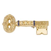 Sesquicentennial Sapphire Badge