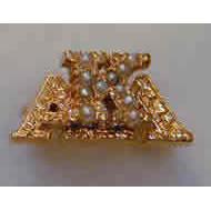 Crown Pearl Badge