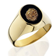 Sm. Comstock Crest Ring