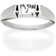 Mini Monogram Ring