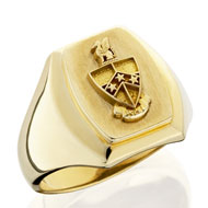 Barrel Coat of Arms Ring