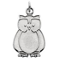 Whimsical Owl Charm