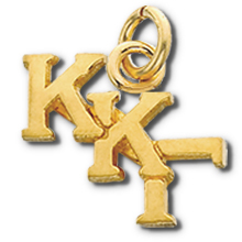 Staggered Letter Lavaliere w/o Chain