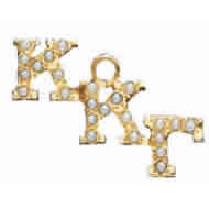 Crown Pearl Staggered Lavaliere