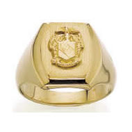 Barrel Crest Ring