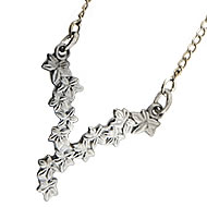 Cascading Ivy Leaf Necklace