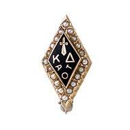 Standard Crown Pearl Badge