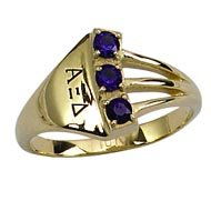 Trilogy Ring with *Sapphires or Diamonds