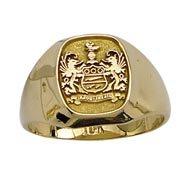 Antique Crest Signet Ring