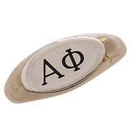 Oval Letter Ring